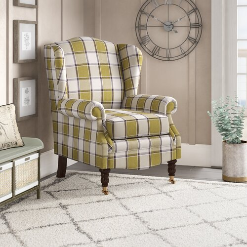Josephson Wingback Chair Astoria Grand Upholstery: Turin Lilac