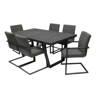 Tenbury 7 Piece Dining Set Williston Forge