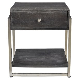 Lowe Side Table By Brick & Barrow
