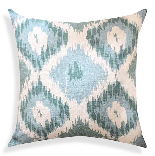 Ikat Designer Cotton Throw Pillow