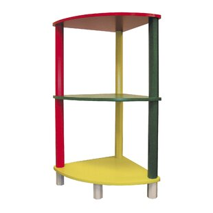Kids 3 Tier Corner 285 Bookcase by ORE Furniture