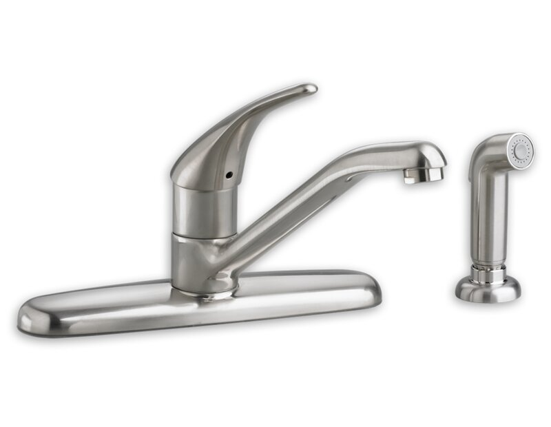 American Standard Colony Soft Single Handle Kitchen Faucet With