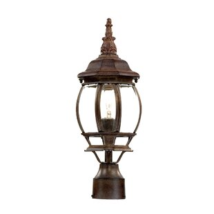 Best Reviews Reva Outdoor 1-Light Lantern Head By Fleur De Lis Living