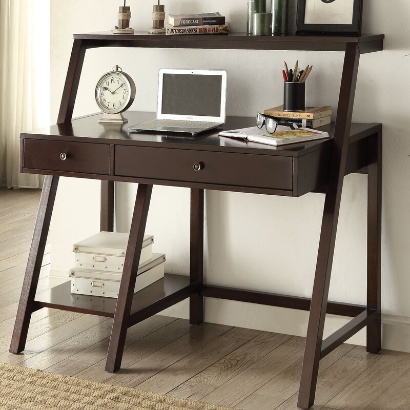 ACME Furniture Dacia LeaningLadder Desk Reviews Wayfair