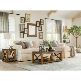 Battershell 2 Piece Coffee Table Set