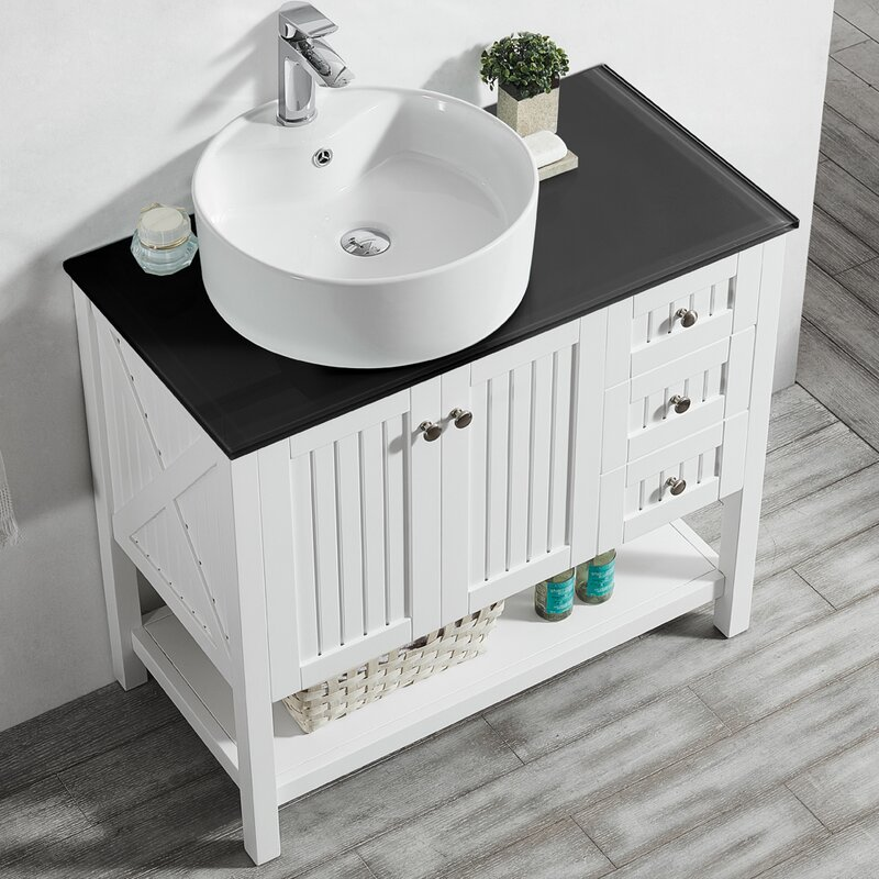 Nadel 36 Single Bathroom Vanity Set