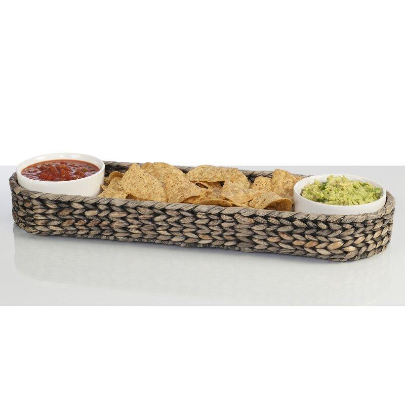 Longshore Tides Bingham Chip And Dip Platter Reviews Wayfair
