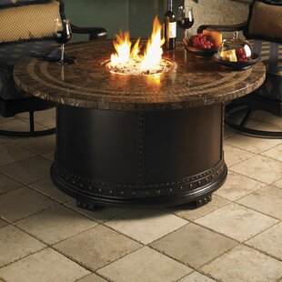 Kingstown Sedona Steel Natural Gas Fire Pit Table