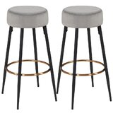 Dmion 26 Counter Stool (Set of 2) by Everly Quinn