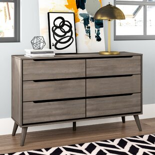 Mercury Row Mason 6 Drawer Double Dresser