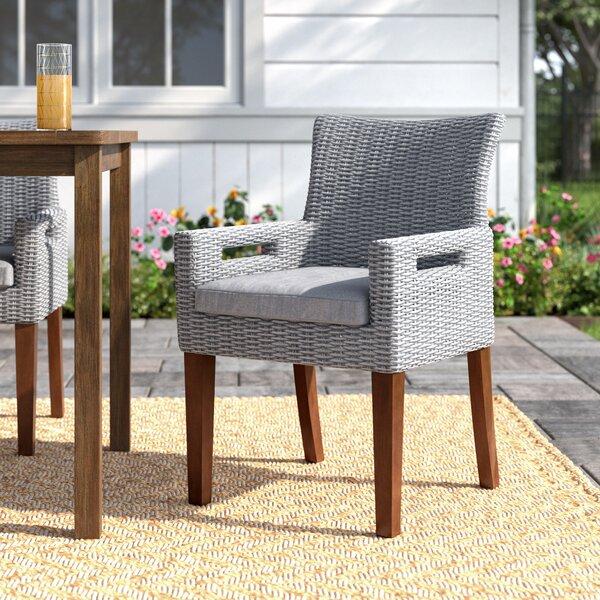 Birch Lane Mankato Indoor Outdoor Dining Chair Cushion Wayfair