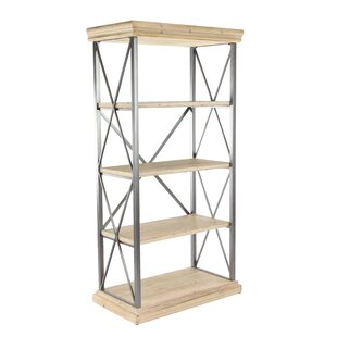 Inexpensive Lykens Modern 4-Tier Etagere Bookcase ByGracie Oaks