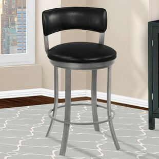 Mcvey Bar & Counter Swivel Stool by Orren Ellis
