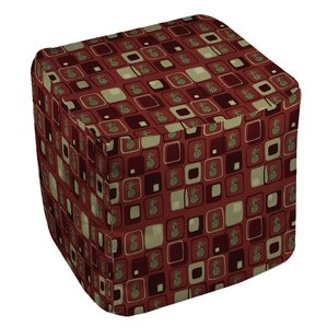 Deco Pineapple Ottoman by Manual Woodworkers..