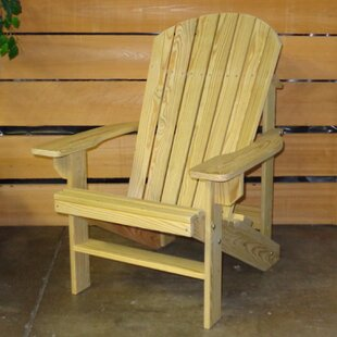 Hershy Way Solid Wood Adirondack Chair