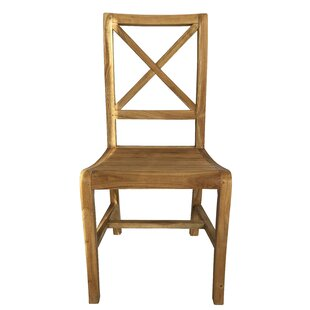 Hendley Solid Wood Dining Chair Highland Dunes