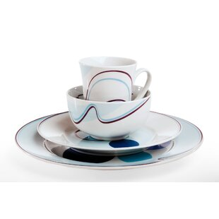 Halsa Portion Control 4 Piece Place Setting, Service for 1