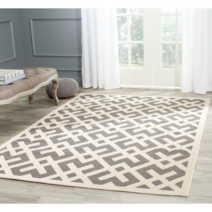 Jefferson Place Gray/Bone Indoor/Outdoor Area Rug