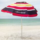 Life is Good 7 Beach Umbrella
