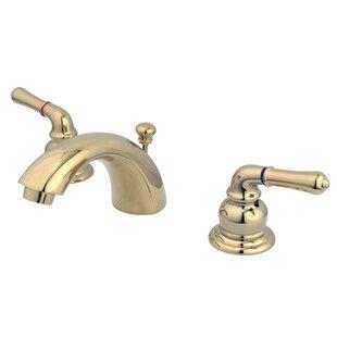 Best Reviews Magellan Widespread Bathroom Faucet with ABS Pop-Up Drain ByKingston Brass