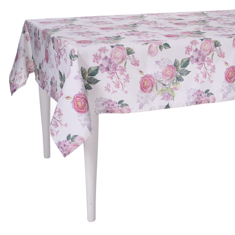 Delicieux Spring Rose Pedal Tablecloth