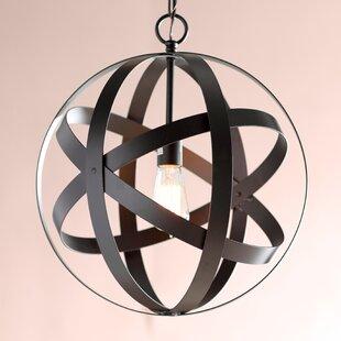 Ealey 1-Light Globe Pendant By Mercury Row Ceiling Lights