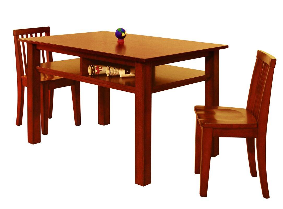 AFG International Furniture Athena Newton Kids Table and Chair Set ...