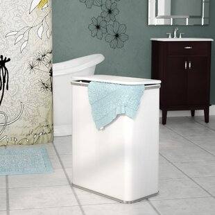 Latitude Run Maura Diamond Pattern Laundry Hamper