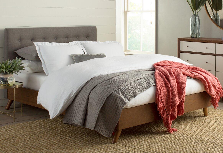 Smallwood Upholstered Platform Bed