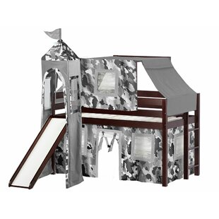 Elara Castle Twin Low Loft Bed