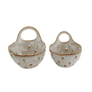 Wagaman Stoneware Colander (Set of 2)