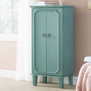 Myrtle Jewelry Armoire With Mirror