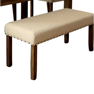 Alcott Hill Crafton Wood Bench
