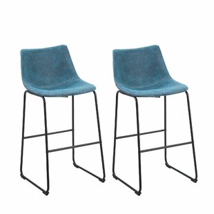 Mateyka 69cm Bar Stool (Set Of 2) By Mercury Row