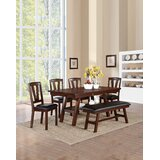 Carlos 6 Piece Dining Set by Millwood Pines