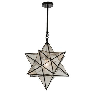 Three Posts Azalea Star 1-Light Pendant