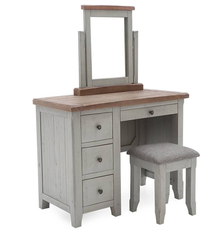 beachcrest home schminktisch nicholby. Black Bedroom Furniture Sets. Home Design Ideas