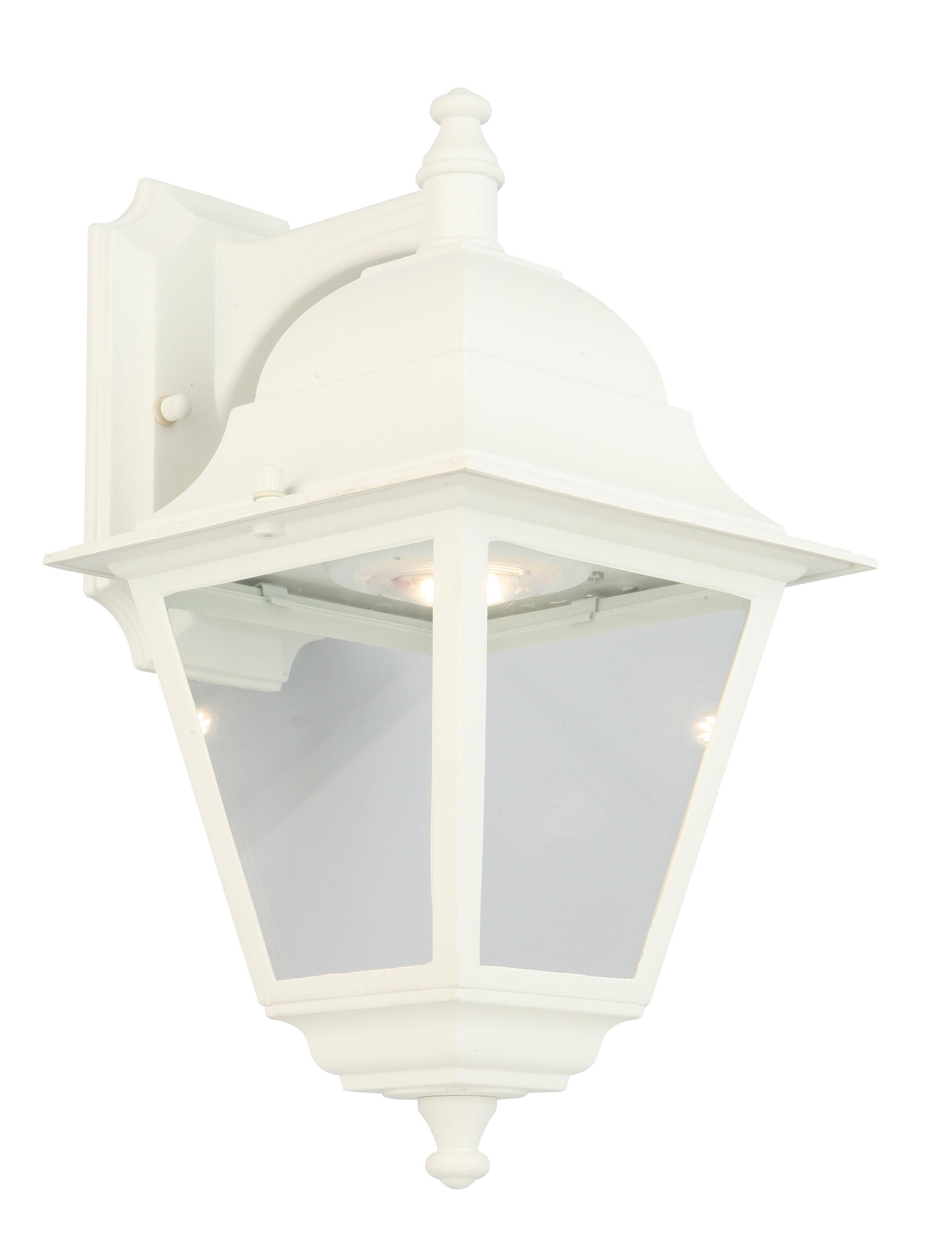 Alcott Hill Penkridge Colonial Led Outdoor Wall Lantern Wayfair