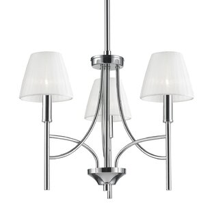 Bocanegra 3-Light Shaded Chandelier