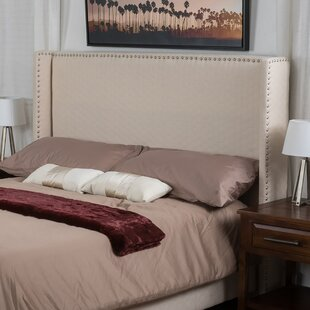 Pederson Upholstered Wingback Headboard