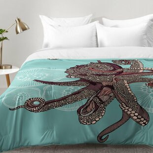 Octopus Bloom Comforter Set