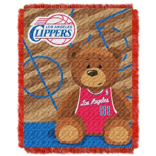 Best Reviews NBA Clippers Half Court Baby Throw ByNorthwest Co.