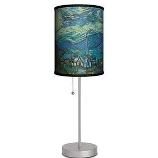 Affordable Pankratz Starry Night By Vincent Van Gogh 19 Table Lamp By Ebern Designs