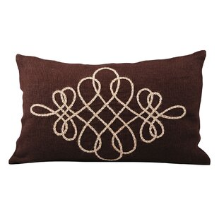 Arden Jute Lumbar Pillow