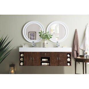 Villegas 59 Double Bathroom Vanity Set by Ivy Bronx