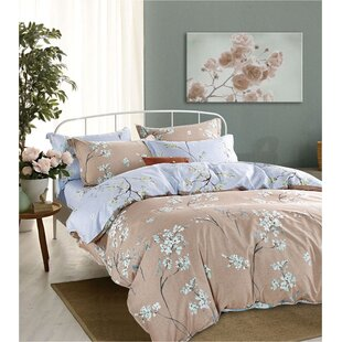 Uvalda 100% Cotton 5 Piece Comforter Set