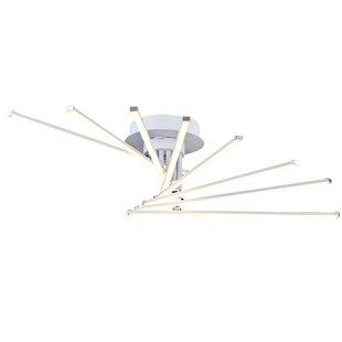 Sangerfield 8-Light LED Semi Flush Mount by Brayden Studio