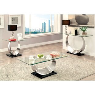 Affordable Conann 3 Piece Coffee Table Set By Orren Ellis