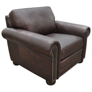Athens Armchair by Omnia Leather