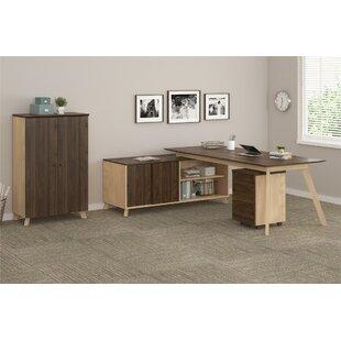 Ivy Bronx Barbosa Executive 3 Piece L-Shape Desk Office Suite